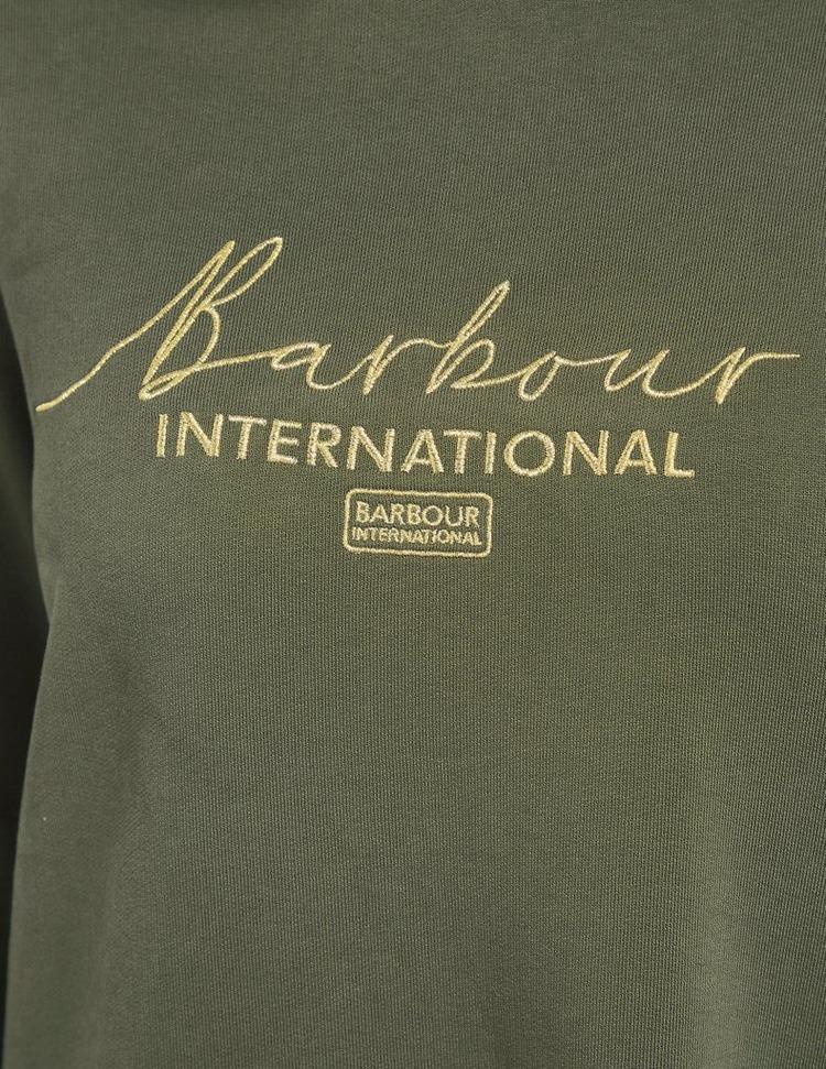 Barbour International Throttle Signature Hoodie