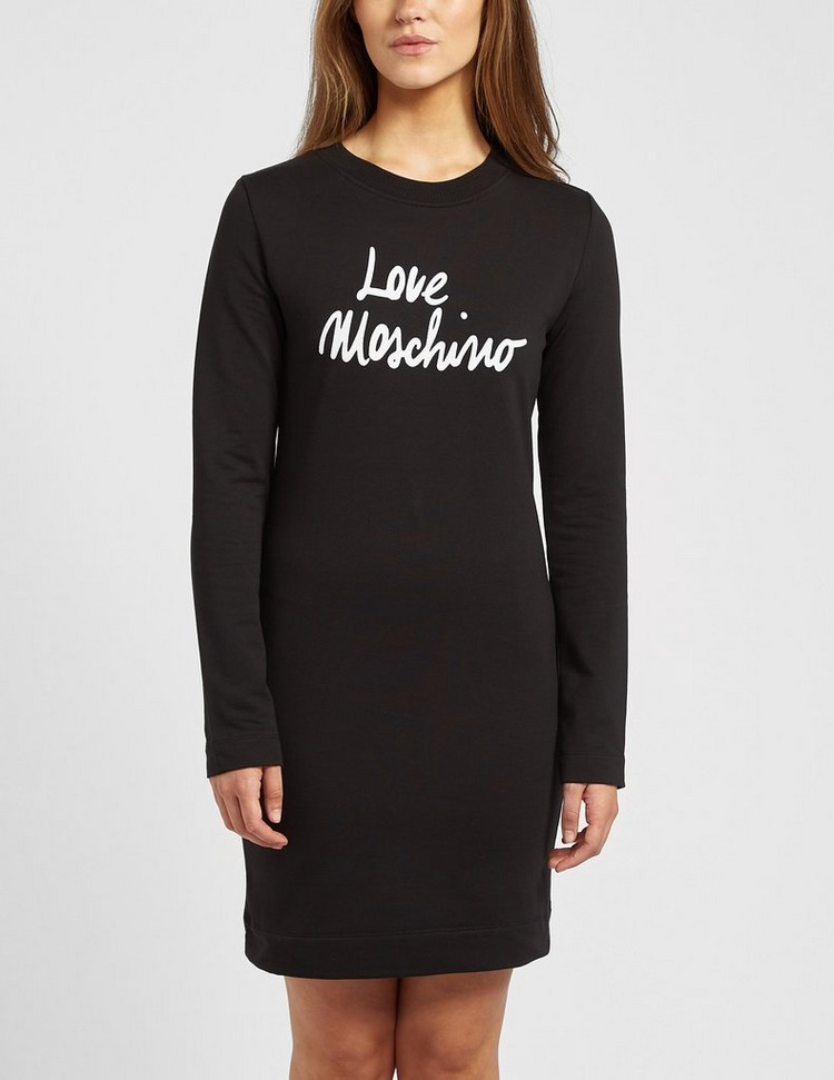 Love Moschino Script Logo Dress