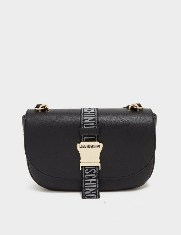 Love Moschino Tape Saddle Cross Body Bag
