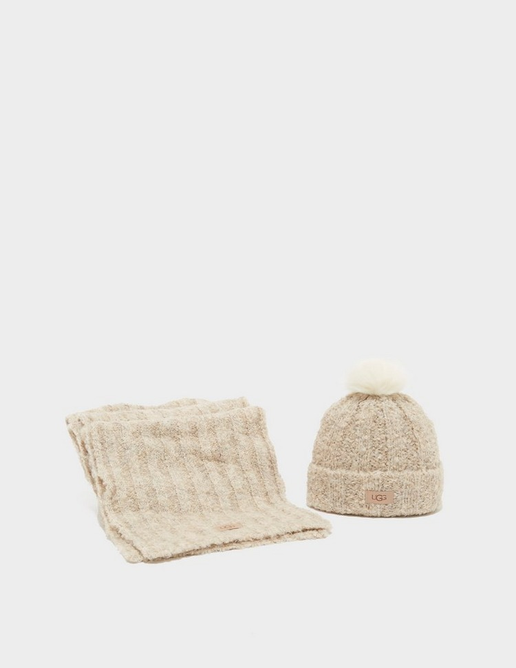 UGG Boucle Scarf and Hat