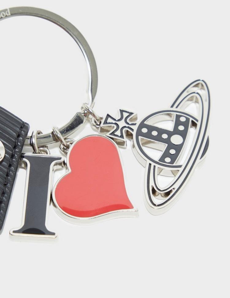 Vivienne Westwood Polly I Love VW Key Chain