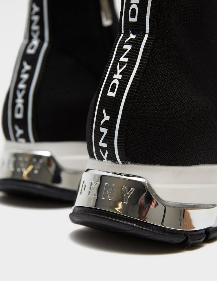 DKNY Mace Logo Band Sock Trainers