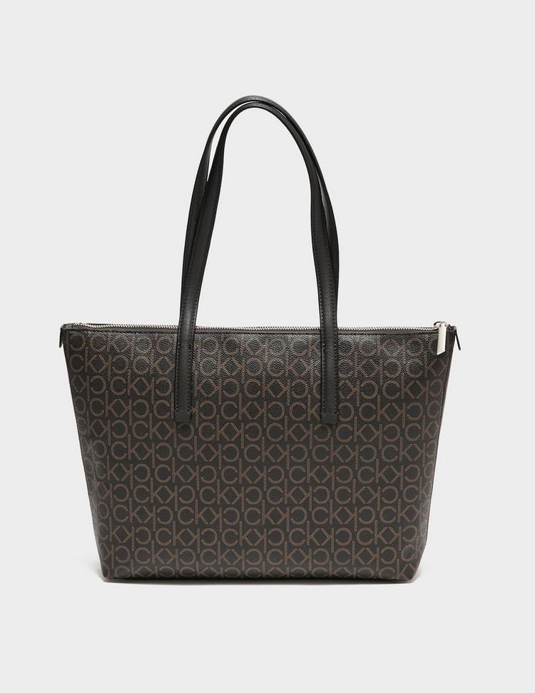 Calvin Klein Womenswear Monogram Shopper Bag