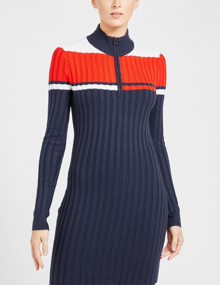 Tommy Jeans Colour Block Zip Dress