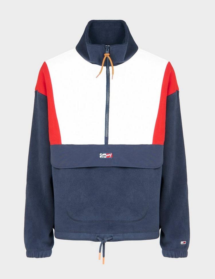 Tommy Jeans Polar Half Zip Sweatshirt
