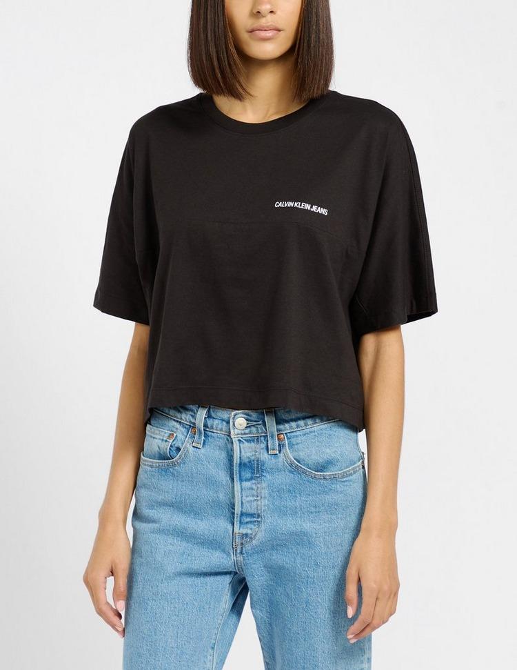 Calvin Klein Jeans Institutional Crop T-Shirt