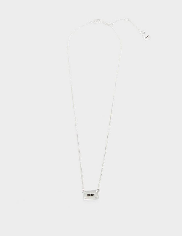 DKNY Jewellery Logo ID Pendant Necklace