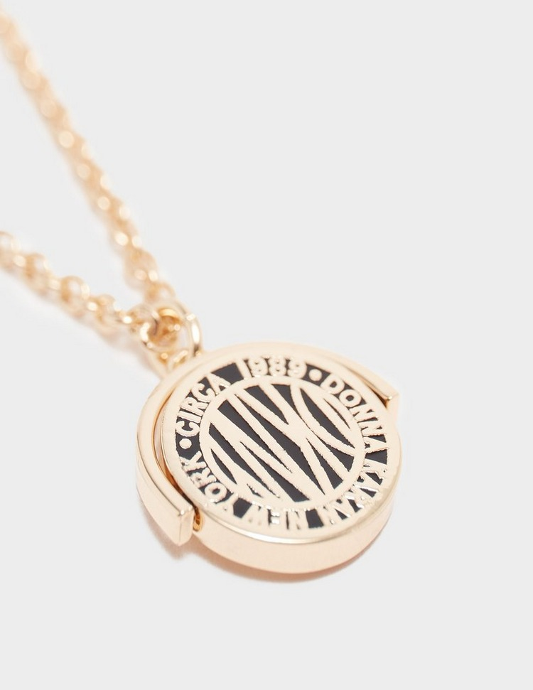 DKNY Jewellery Coin Pendant Necklace