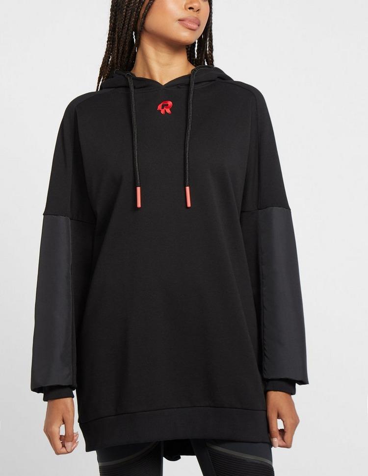 Red Run Activewear Inky Oversized Drop Shoulder Hoodie