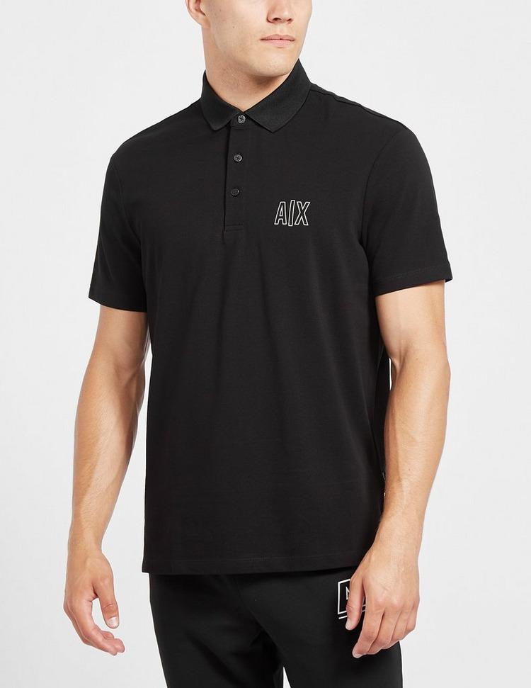 Armani Exchange Logo Pique Polo Shirt