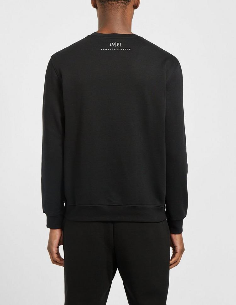 Armani Exchange Bolt & Nut Crew Sweatshirt
