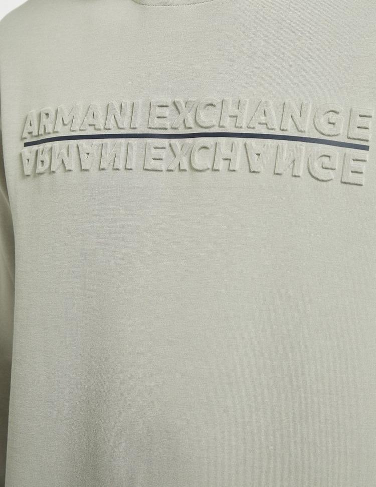 Armani Exchange Embossed Logo Hoodie