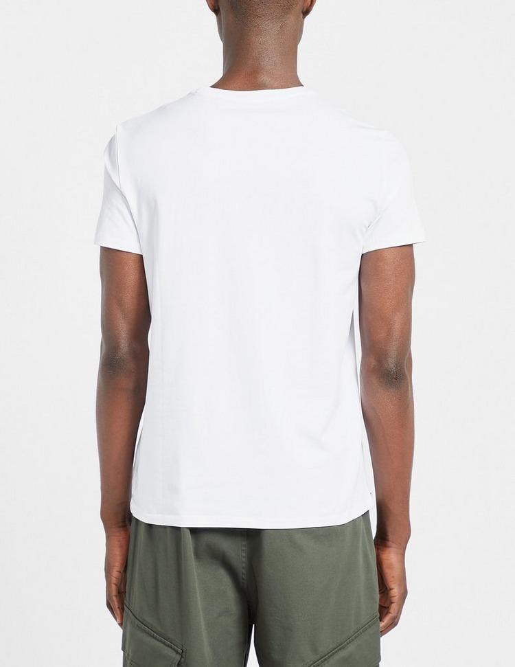 Armani Exchange Silver T-Shirt