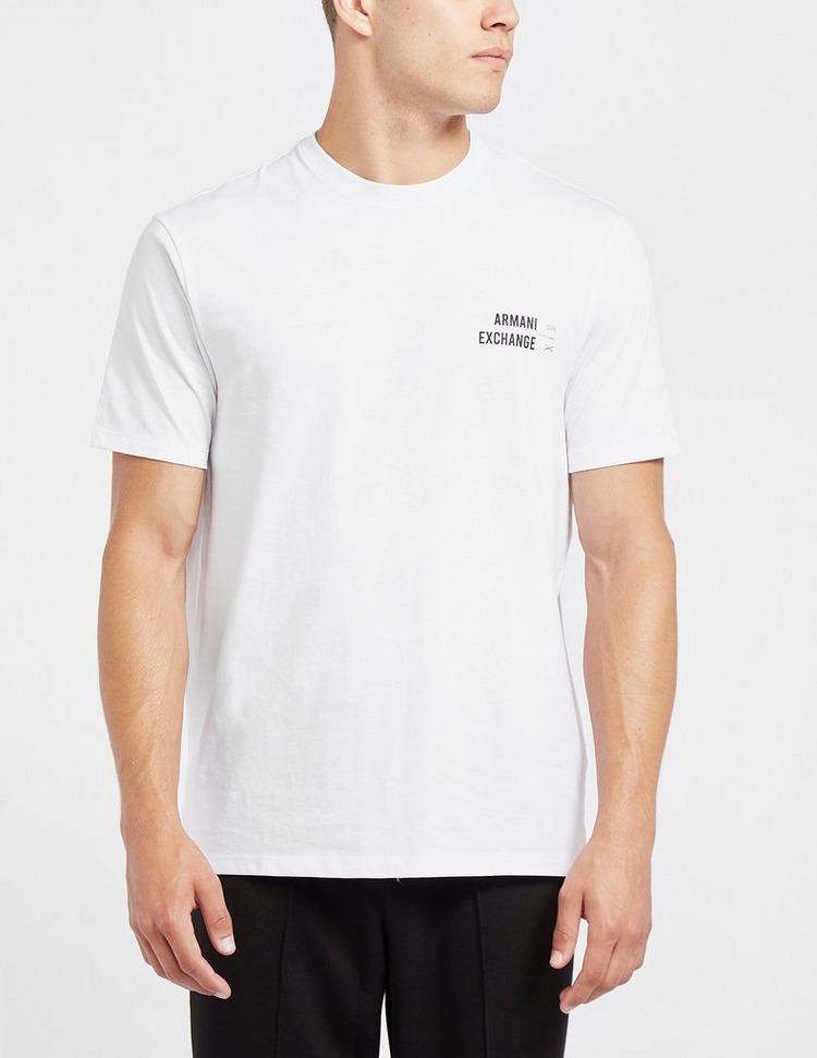 Armani Exchange Small Silver AX T-Shirt