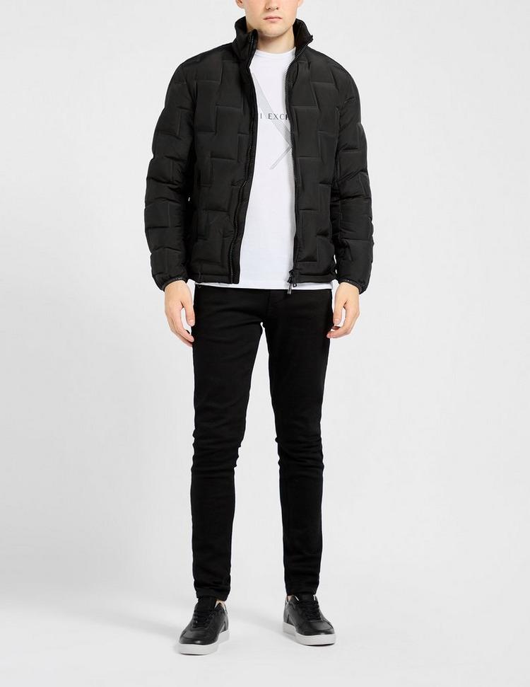 Armani Exchange Zig Zag Down Jacket