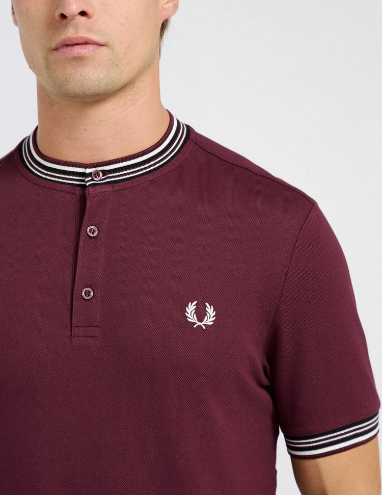 Fred Perry Henley Collar Polo Shirt
