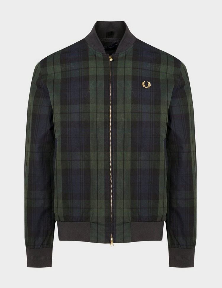 Fred Perry Tartan Bomber Jacket