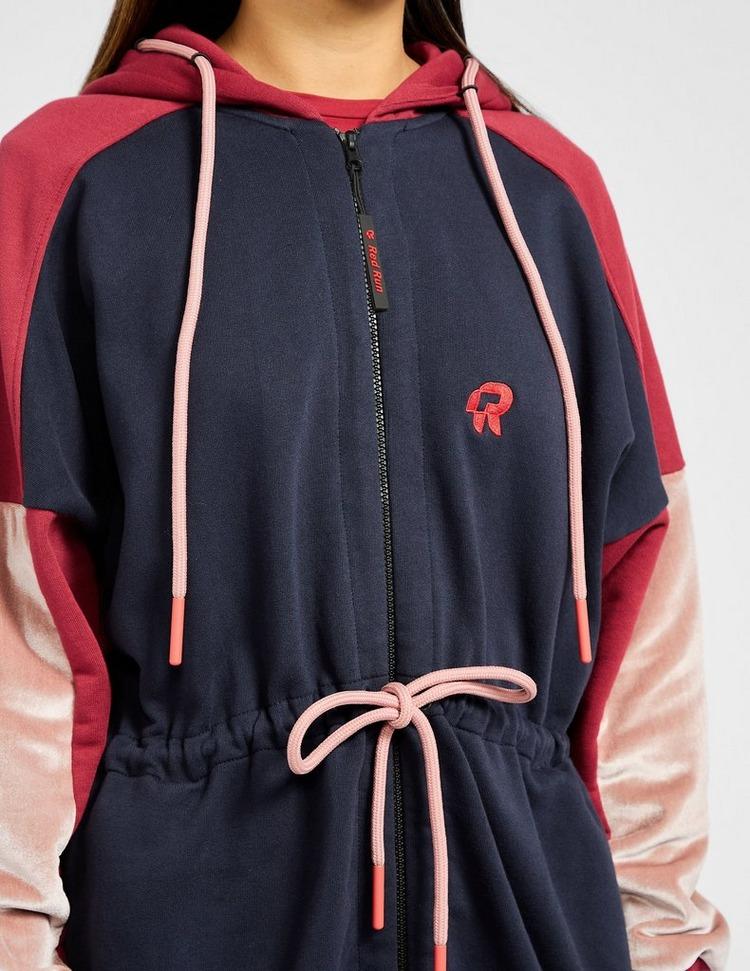Red Run Activewear Parisian Night Zip Long Hoodie