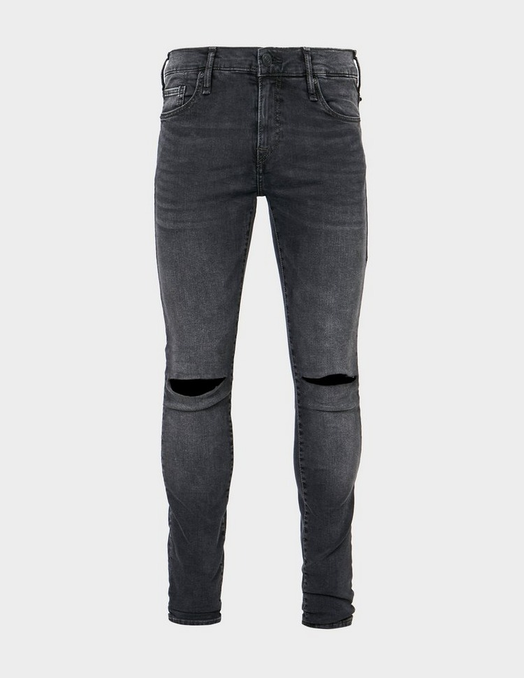 True Religion Tony Destroyed Skinny Fit Jeans