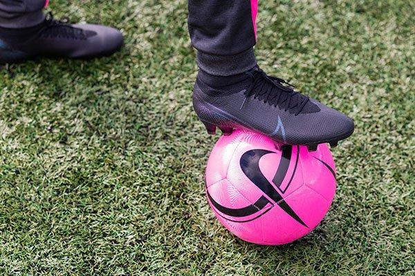 Loopanalyse voetbalschoenen