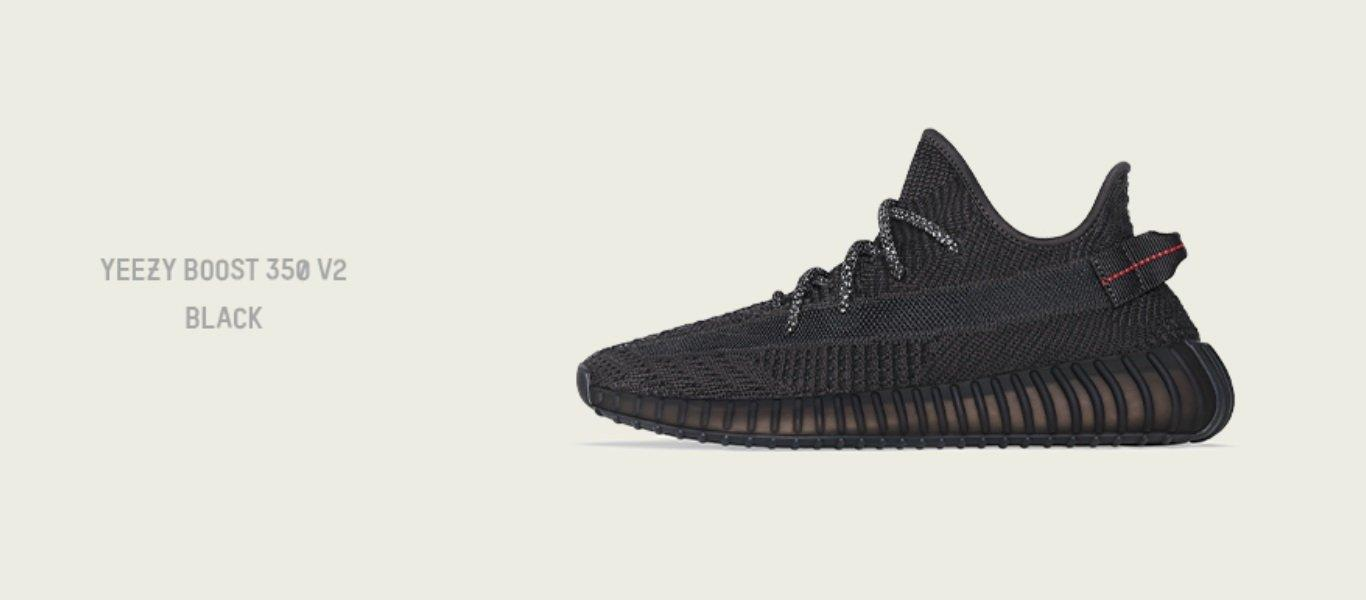 Yeezy Boost Black v2