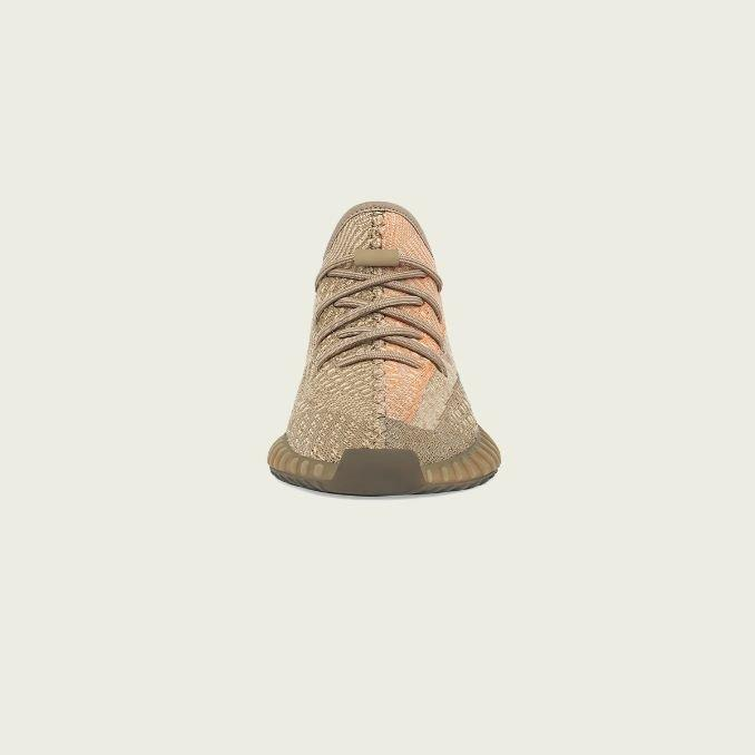 Yeezy Boost 350 V2 Sand Taupe frente