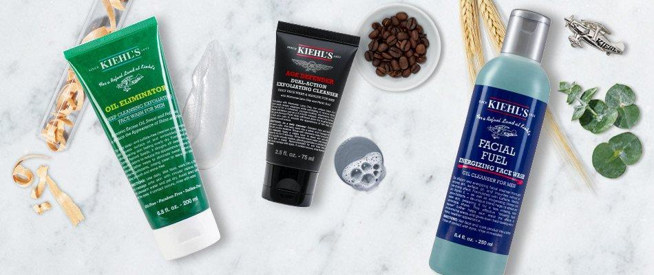 Kiehl's Guide to The Best Face Washes For Men