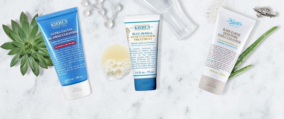 The Best Kiehl's Cleansers For Acne-Prone Skin