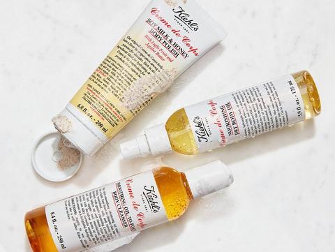 A photo of Kiehl's Creme de Corps product line