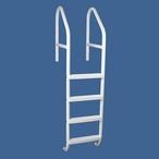 "Saftron - 30"" Commercial 5-Step Cross Braced Pool Ladder, Black - 366834"