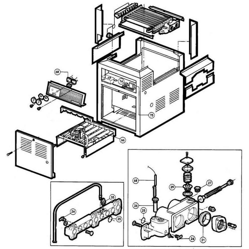 Hayward Heater Heatmaster HM Models 280-406 Heater image