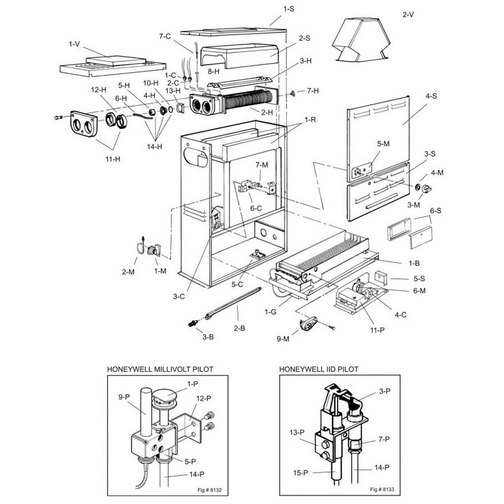 Raypak Heater 055 Series - 055B Heater image