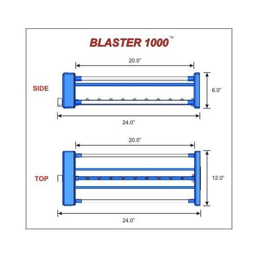 Blaster 3000 Automatic Filter Cartridge Cleaner