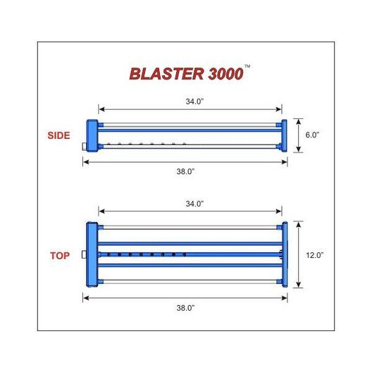 Blaster 2000 Automatic Filter Cartridge Cleaner