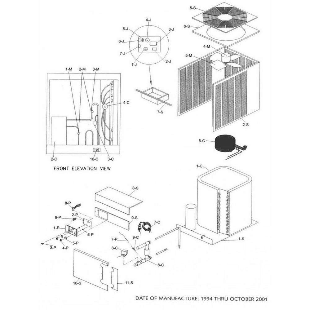 Raypak Heat Pump RHP 072 & 104 image