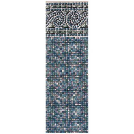 Beaded 16' x 24' Oval Portofino 52 in. Depth Above Ground Pool Liner, Depth, 52in.