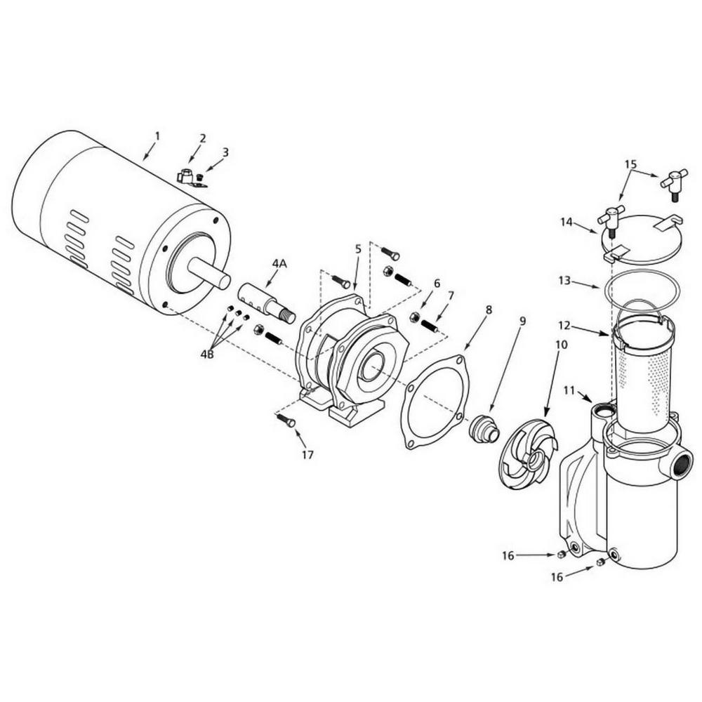 Sta-Rite CFA Pump image