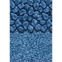 Unibead 15' x 24' Oval Boulder Swirl 48 in. Depth Above Ground Pool Liner, 20 Mil