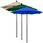 7.5' Market Umbrella, Green