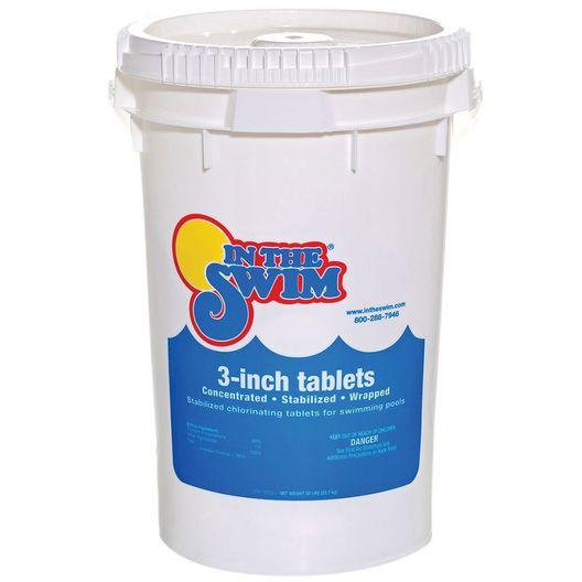 3 Inch Chlorine Tablets - 50 lbs - 12074