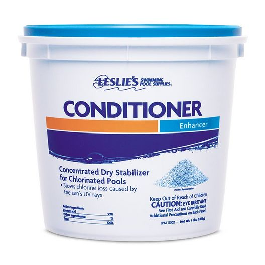 Leslie's - Chlorine Stabilizer Water Conditioner, 4 lbs - 12302