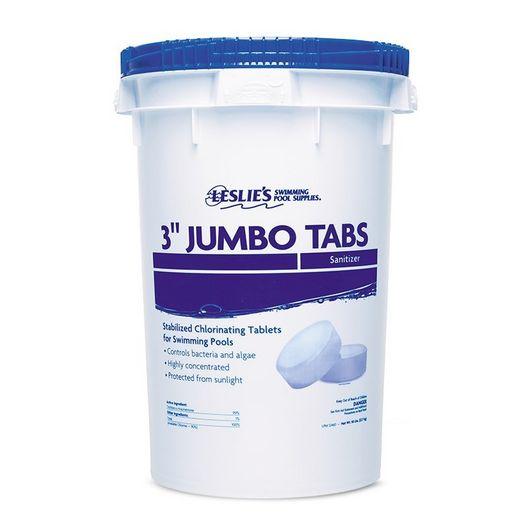 Leslie's - 20 lb. 3 in. Jumbo Tabs - Chlorine Bucket - 12439