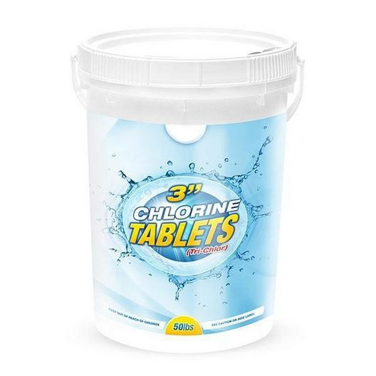 3 Inch Chlorine Tablets - Bucket