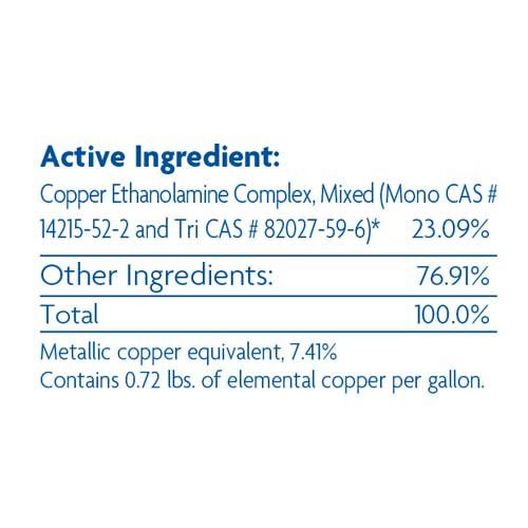 Copper Algaecide- 1 qt. Bottle