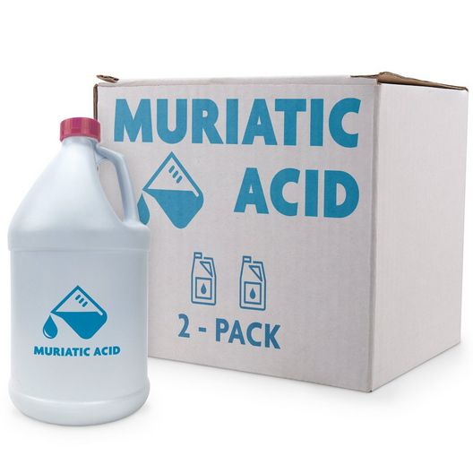 Muriatic Acid 2-Pack of 1 Gallon Bottles - 14015