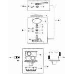 Jacuzzi Multiport Backwash Valve 7 Way Dial Valve
