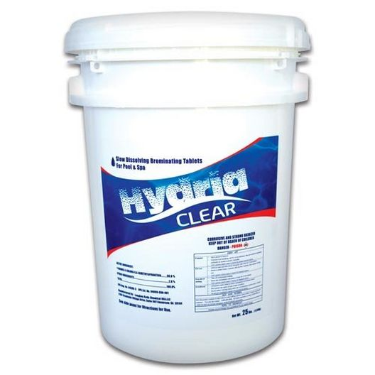 Hydria Clear - Bromine Tablets, 25 lbs. - 14305
