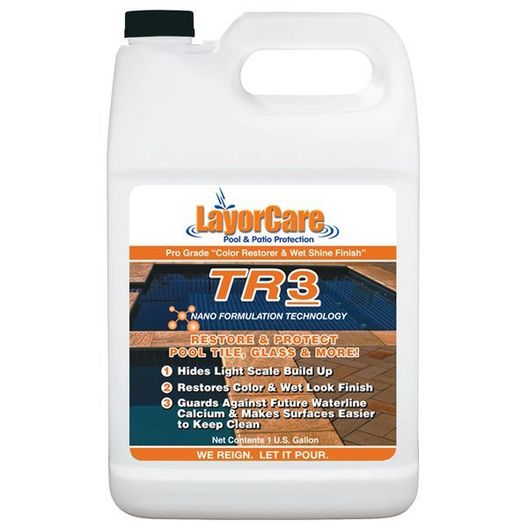 TR3 Pool Tile Sealer, 1 Quart