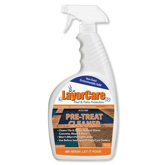 Pre-Treat Cleaner for Tile 1 Quart Spray Bottle