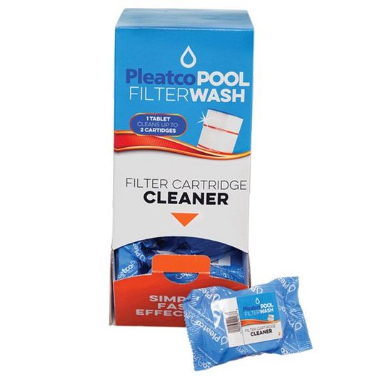 Pool FilterWash Tablets for Cartridge Filters